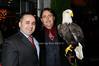 Jack Sinanaj,Al Cecere,Challenger (American Bald Eagle)<br /> photo by Rob Rich © 2009 robwayne1@aol.com 516-676-3939