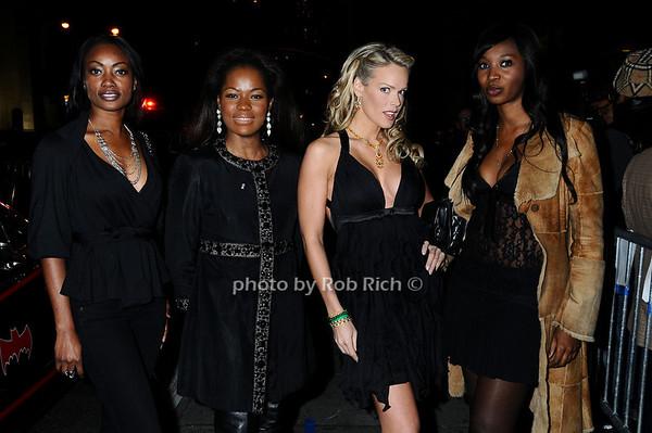 Selene Samuels, Magdela Cooper, Heidi Albertsen,  Sajo Juwara<br /> photo by Rob Rich © 2009 robwayne1@aol.com 516-676-3939