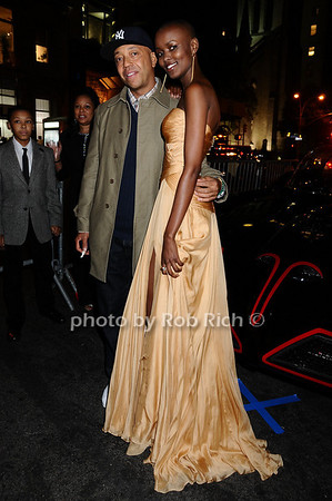Russell Simmons, Miss Tanzania  Flaviana Matata<br />  <br /> photo by Rob Rich © 2009 robwayne1@aol.com 516-676-3939