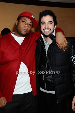 Josue Sejour, DJ Cassidy<br /> photo by Rob Rich © 2009 robwayne1@aol.com 516-676-3939