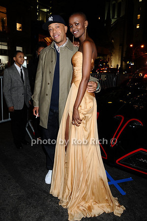Russell Simmons, Miss Tanzania  Flaviana Matata<br /> photo by Rob Rich © 2009 robwayne1@aol.com 516-676-3939