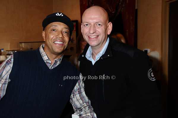 Russell Simmons, David Rosenberg<br /> photo by Rob Rich © 2009 robwayne1@aol.com 516-676-3939