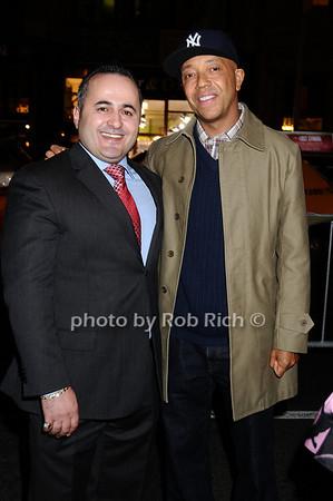 Jack Sinanaj, Russell Simmons<br /> photo by Rob Rich © 2009 robwayne1@aol.com 516-676-3939