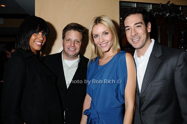Michelle Bernard, Gary Berdalovitz, April Kimm, Matt Tartaglia<br /> photo by Rob Rich © 2009 robwayne1@aol.com 516-676-3939