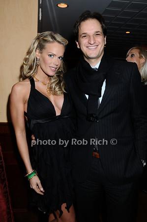 Heidi Albertsen, Alessandro Mattarini<br /> photo by Rob Rich © 2009 robwayne1@aol.com 516-676-3939