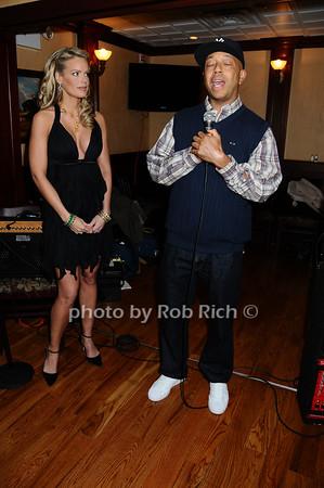 Heidi Albertsen, Russell Simmons<br /> photo by Rob Rich © 2009 robwayne1@aol.com 516-676-3939