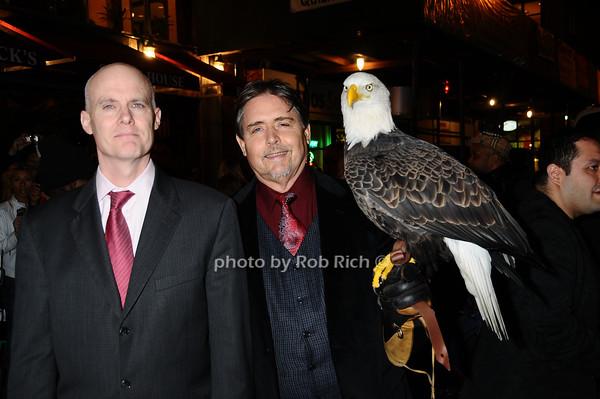 Lawrence Kopp,  Al Cecere,Challenger (American Bald Eagle)<br /> photo by Rob Rich © 2009 robwayne1@aol.com 516-676-3939