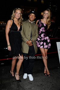Heidi Albertsen, Russell Simmons, Julie Henderson photo by Rob Rich © 2009 robwayne1@aol.com 516-676-3939
