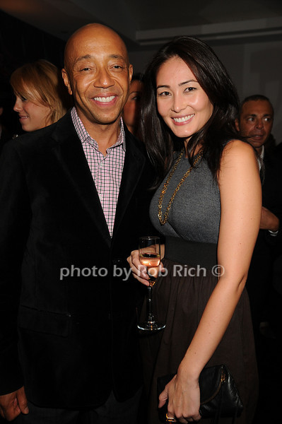 Russell Simmons, Shawna Christensen<br /> photo by Rob Rich © 2008 robwayne1@aol.com 516-676-3939