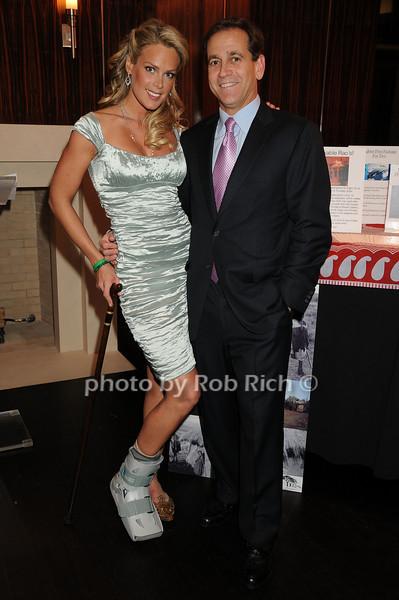 Heidi Albertsen, Dr.Kevin Plancher<br /> photo by Rob Rich © 2008 robwayne1@aol.com 516-676-3939