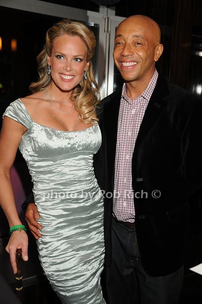 Heidi Albertson, Russell Simmons<br /> photo by Rob Rich © 2008 robwayne1@aol.com 516-676-3939