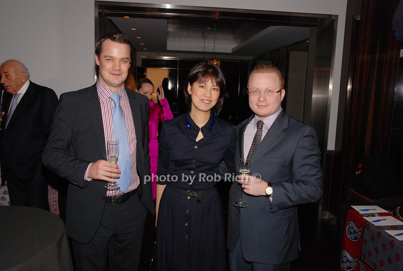 Toby Smart, Angelina Chen and Isacc Zakoniv