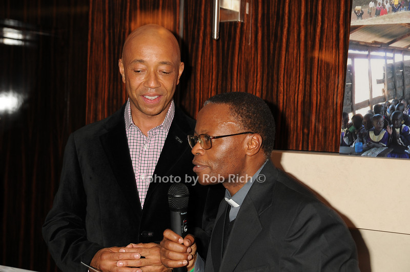 Russell Simmons, Father Steven<br /> photo by Rob Rich © 2008 robwayne1@aol.com 516-676-3939