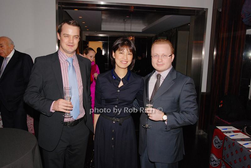 Toby Smart, Angelina Chen and Isacc Zakoniv