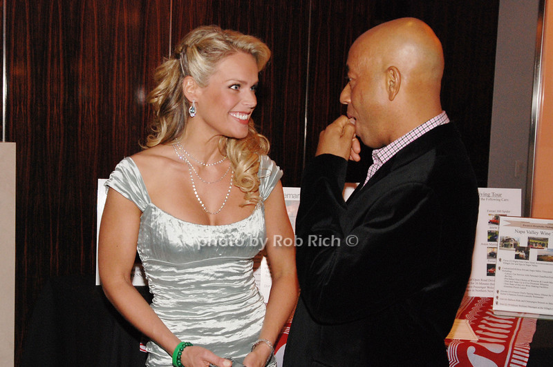 Heidi Albertson and Russell Simmons