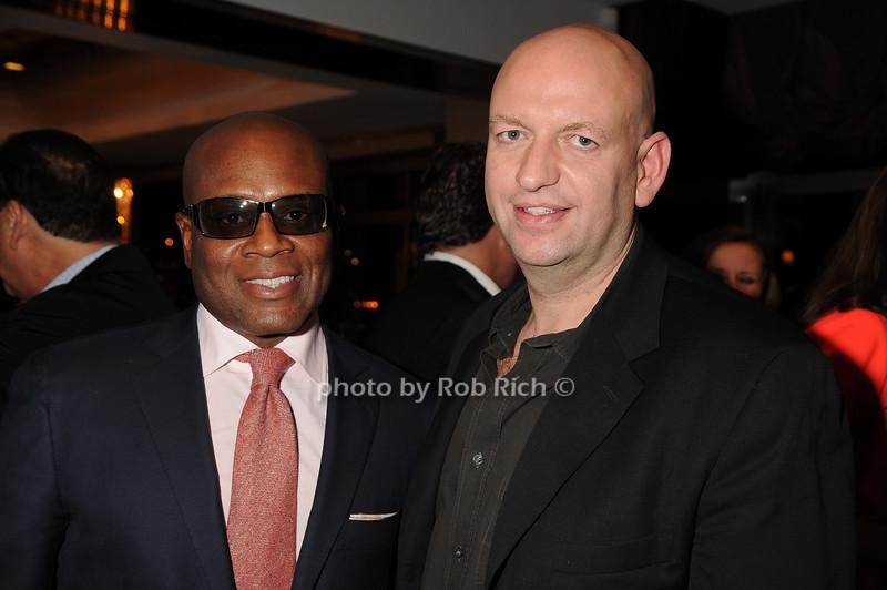 L.A Reid, David Rosenberg<br /> photo by Rob Rich © 2008 robwayne1@aol.com 516-676-3939