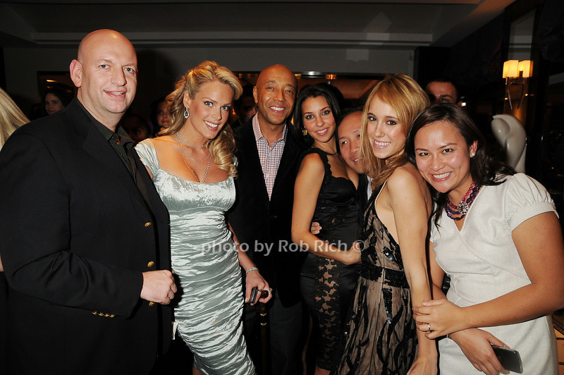David Rosenberg, Heidi Albertson, Russell Simmons, guests<br /> photo by Rob Rich © 2008 robwayne1@aol.com 516-676-3939