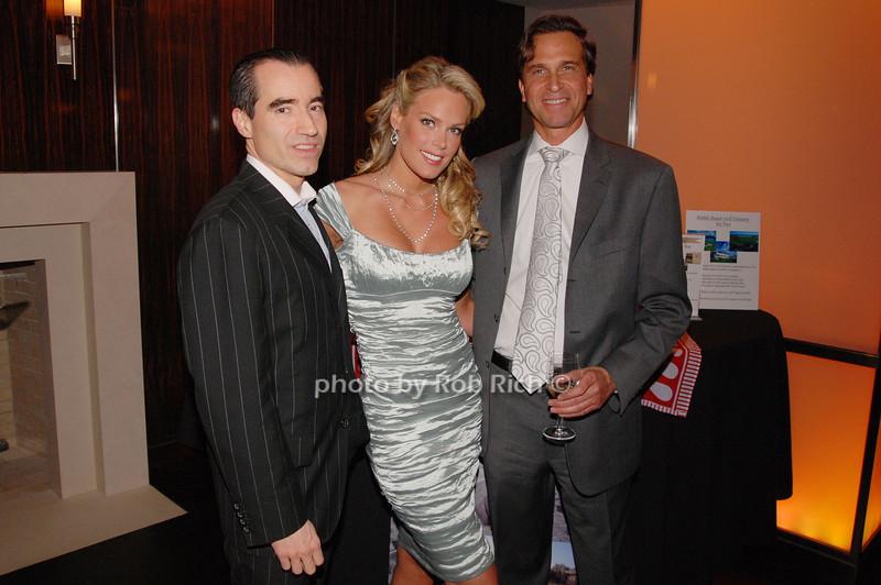 Andrew Worden, Heidi Albertson and Dr. Richard Firshein