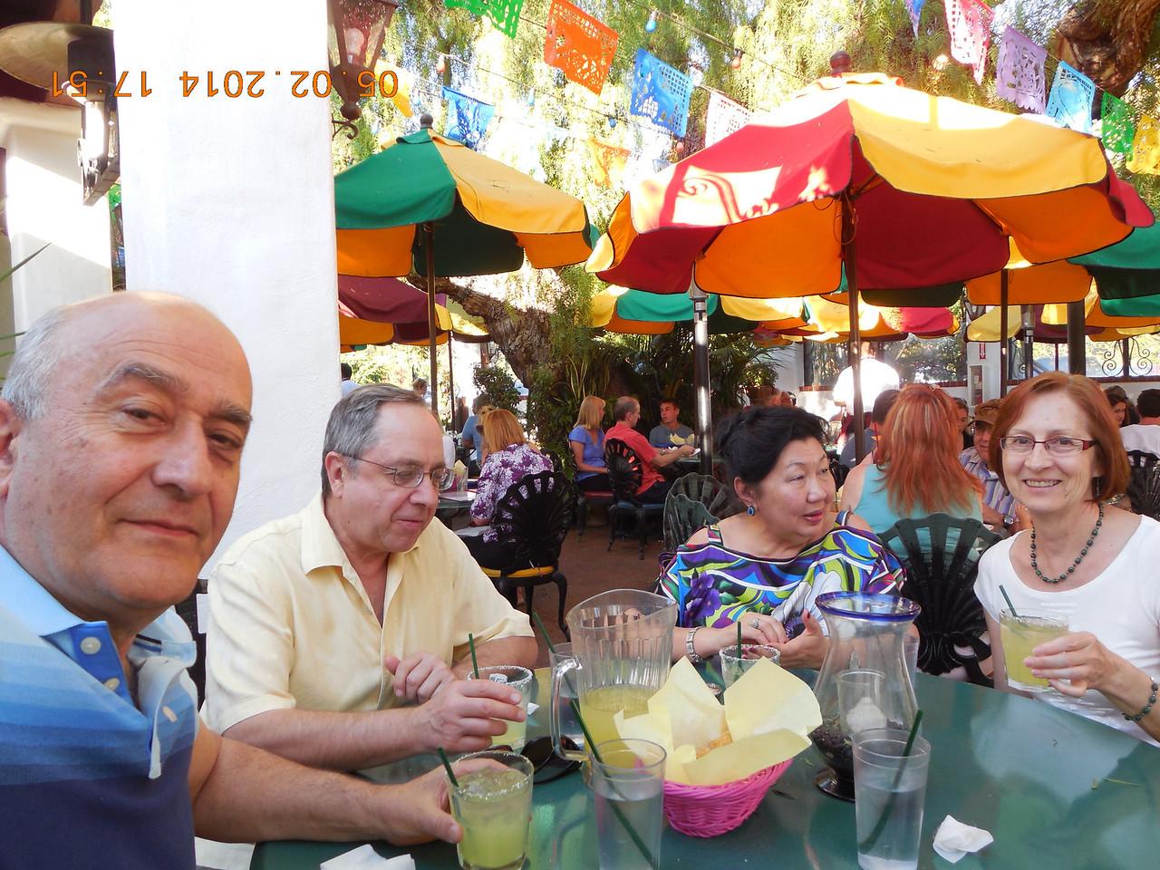 May 2, 2014; Gualadahara Grill  San Diego CA