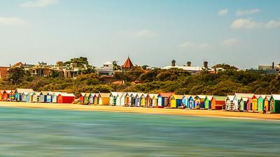 Brighton Beach Bathing Boxes  2