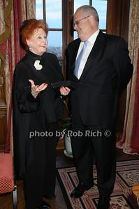 Arlene Dahl, Roger Goldman photo by Rob Rich © 2009 516-676-3939 robwayne1@aol.com