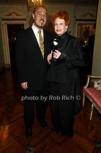 Marc Rosen, Arlene Dahl photo by Rob Rich © 2009 516-676-3939 robwayne1@aol.com