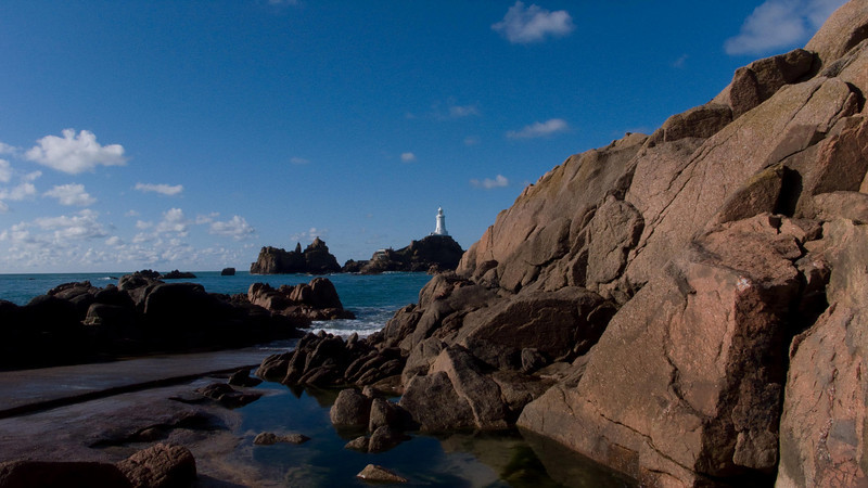 """There are masses of granite - in fact the island of Jersey is known to the locals as """"The Rock"""""""