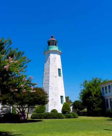 Old Point Comfort Light,  Fort Monroe, VA