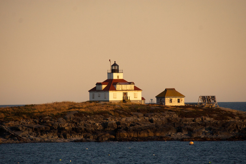 While just watching the coastline while sailing out of all ports, lighthouses abound.