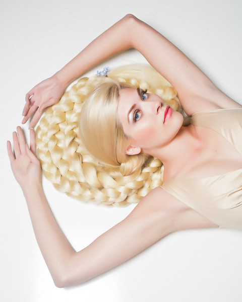 Repunzel Model- Hailey Spung MUA/Hair- Hailey Spung Photographer- Torsten Bangerter