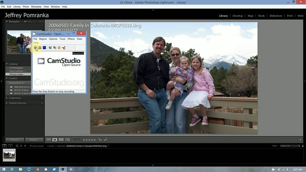 Fixing a flat photo with Lightroom