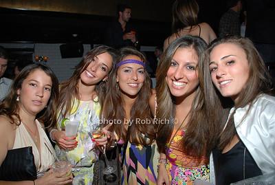 Sylvana Kiss, Lauren Gaazo, Zeynep Halici, Taren Dolbshian, Maha Einabaui photo by Rob Rich © 2008 516-676-3939 robwayne1@aol.com