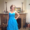 Saturday, May 4, 2013 - Jessica Wochner all dolled up for her Senior Prom