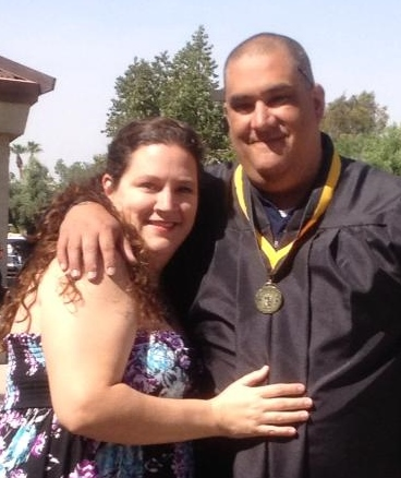 Friday, May 3, 2013 - Congratulations to Sifu Tony Garcia who graduated from college today!