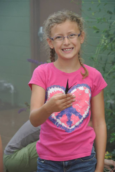 Sunday, July 14, 2013 - Emma Kessler at Butterfly Wonderland.
