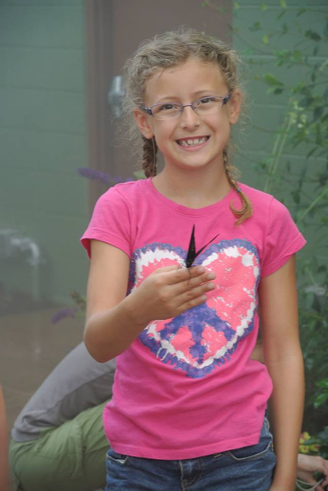 Sunday, July 14, 2013 - Emma Kessler at Butterfly Wonderland.