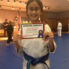 Wednesday, June 19, 2013 - Congratulations to Siloe Jurado who received the Lim Kenpo Academic Achievement Award!