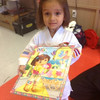 Thursday, June 20, 2013 - Stella Devine finished her puzzle in time to share with her Lim Kenpo family!