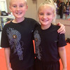 Thursday, June 20, 2013 - Ben and Lilly Ring rockin' their Lim Kenpo Family pride!