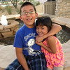 Wednesday, June 12, 2013 - Gustavo Chavez lovin' up his sister!