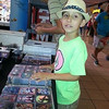 Saturday, June 8. 2013 - Sullivan Schwab checking out the pokemon cards at the mall
