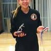 Monday, March 4, 2013 - So proud of Brooke Kish who received the Cross Country MVP award and overall medal at her school!