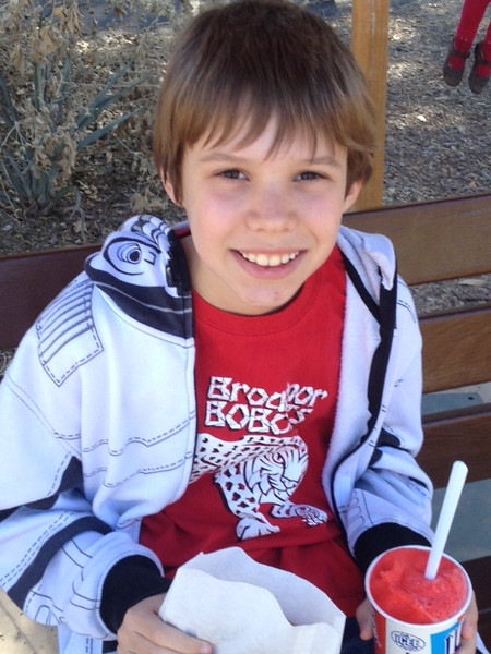 Friday, March 1, 2013 - Happy Birthday to Ryan Wochner who celebrated his 10th birthday at the Phoenix Zoo with his Mom & Dad