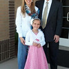 Saturday, March 2, 2013 - Sarah Taylor at her Baptism with Mom & Dad