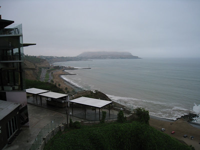 From where I was having tea with my friend Rocio. Even when the weather sucks, its still a great view.