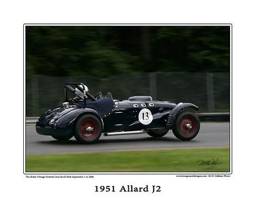 1951 Allard J2 copy