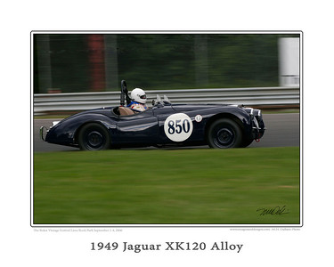 49 jag xk120 alloy one copy