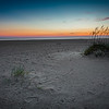Simple Baldhead Island Sunset