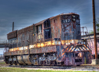"""Old Train 197"""