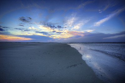 Into The Pastel Sunset - Tybee Island, GA